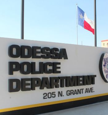 Odessa Police Department Sign